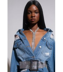 akira frost yourself long statement necklace