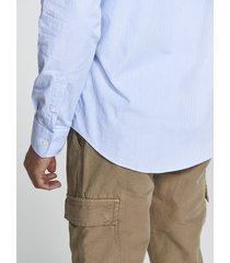 camicia in popeline a righe