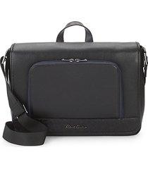 leather crossbody briefcase