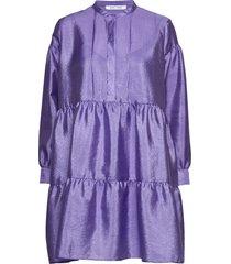 margo shirt dress 11244 kort klänning lila samsøe & samsøe