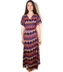 vestido levisa multicolor wild lama