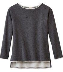sweatshirt, antraciet-gem. 40/42