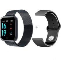 rélogio xtrad smartwatch bluetooth full pro notificações redes sociais - preto
