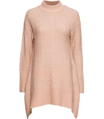 maglione lungo asimmetrico (beige) - bodyflirt