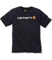carhartt t-shirt men core logo s/s black-xxl