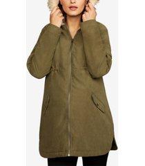 bb dakota maternity hooded coat