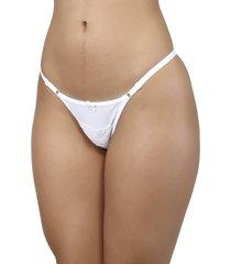 calcinha mardelle string branca - branco - feminino - dafiti