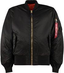 alpha industries ma-1 reversible bomber jacket