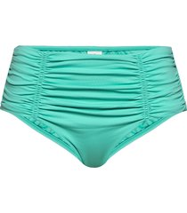 seafolly gathered front retro pant bikinitrosa blå seafolly