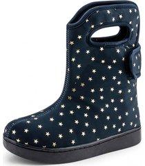 botas urban boots estrellas azul bibi