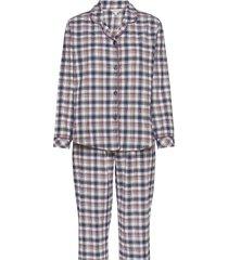cotton flannel pyjamas pyjama paars lady avenue