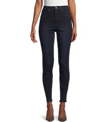 weworewhat women's high-rise skinny jeans - mercer - size 26 (2-4)