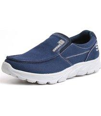 sneakers leggeri in tela slip-on comode