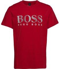 t-shirt rn t-shirts short-sleeved röd boss