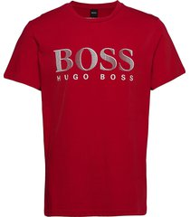 t-shirt rn t-shirts short-sleeved röd boss