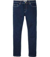 jeans elasticizzati termici thermolite straight (blu) - john baner jeanswear