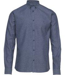 desert shirt skjorta casual blå les deux