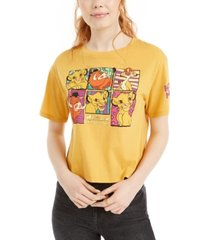 disney juniors' lion king cropped graphic t-shirt by love tribe