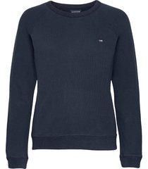nina sweatshirt sweat-shirt trui blauw lexington clothing