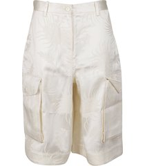 j.w. anderson ivory linen trousers