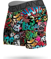 cueca boxer kevland grafite preto - preto - masculino - dafiti