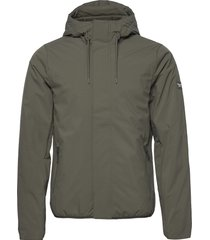anf mens outerwear tunn jacka grön abercrombie & fitch