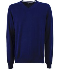 fay blue cotton sweater