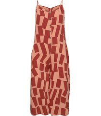 shadows printed jumpsuit jumpsuit orange bobo choses