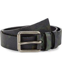 mark camo leather belt