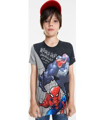 spiderman and venom t-shirt - black - 13/14