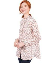 camisa  tapabocas mujer colección antiviral 07784