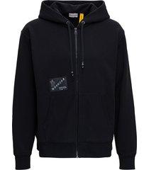 moncler black hoodie by frgmt hiroshi fujiwara