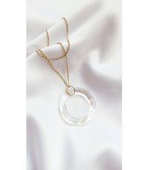 amorphic - nieregularny szklany wisiorek