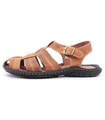 sandália centuria tamanho especial mostarda
