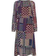 woven dress knälång klänning multi/mönstrad marc o'polo
