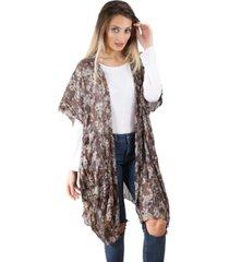 kimono marrón spiga 31
