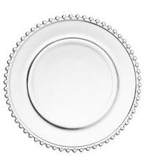 jogo prato sobremesa pearl4 peças 20 cm - wolff