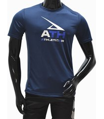 ***camiseta dry fit-azul- athletic air m