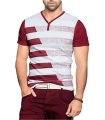 camiseta adulto masculino bicolor marketing personal 56262