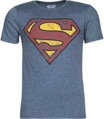 t-shirt korte mouw yurban superman logo vintage
