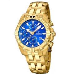 reloj chrono sport dorado festina