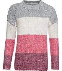 maglione oversize (fucsia) - rainbow