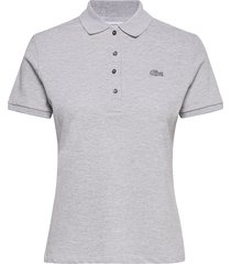 pf5462-00_ady t-shirts & tops polos grijs lacoste