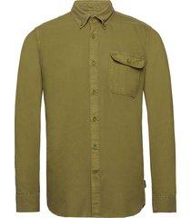 barbour st bower shi skjorta casual grön barbour