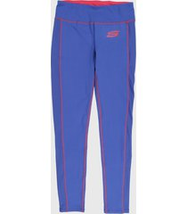 leggings azul-fucsia  skechers