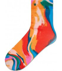 skarpetki mia print ankle sock light