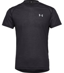 ua streaker 2.0 shortsleeve t-shirts short-sleeved svart under armour