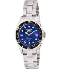 reloj invicta acero modelo 106rk para hombres, colección pro diver