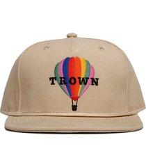 gorra beige trown headware balloon