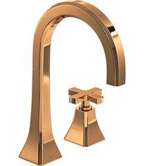 torneira para banheiro mesa wish red gold - 1191.gl.wsh.rd - deca - deca